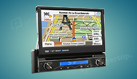 autoradio gps  din android universel