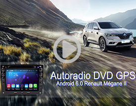 Utilisation: Autoradio Android megane 2 avec GPS Player-top.fr