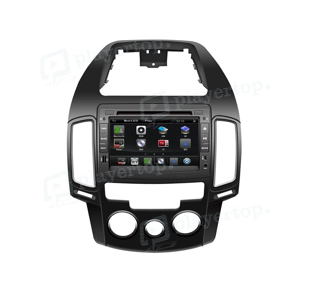 gps autoradio hyundai i30 player top. Black Bedroom Furniture Sets. Home Design Ideas