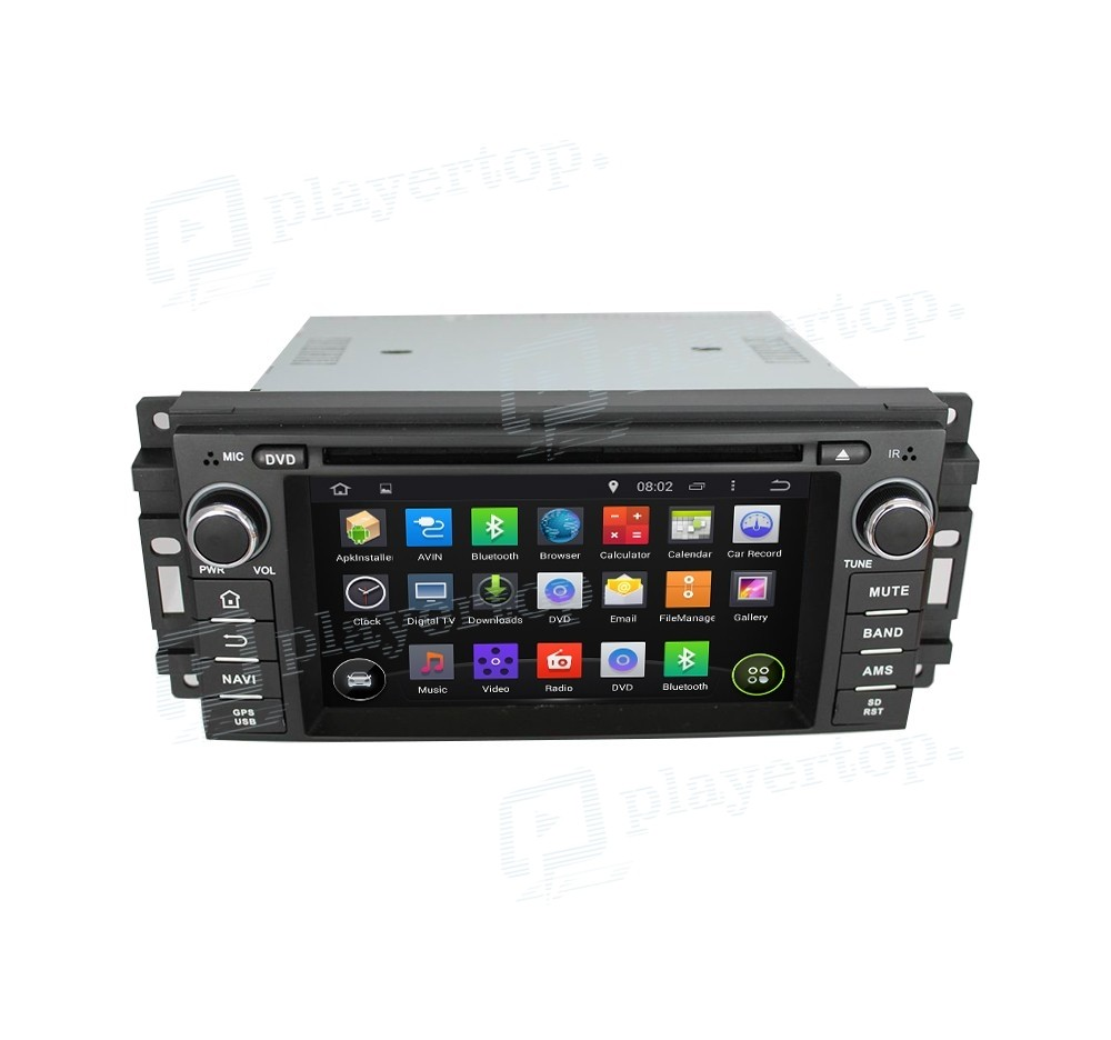 Autoradio Gps Android 4 4 4 Jeep Compass 2005 2012