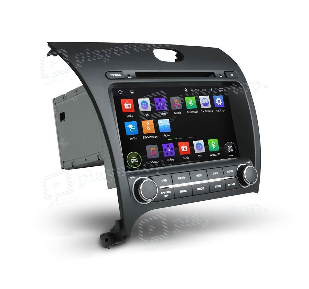autoradio gps android 4 4 4 kia forte 2013. Black Bedroom Furniture Sets. Home Design Ideas