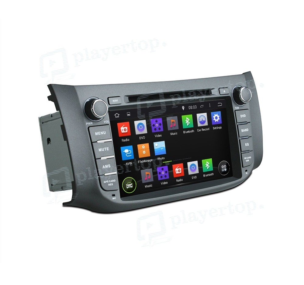 nissan sylphy 2012 2013 autoradio gps android 8 0. Black Bedroom Furniture Sets. Home Design Ideas