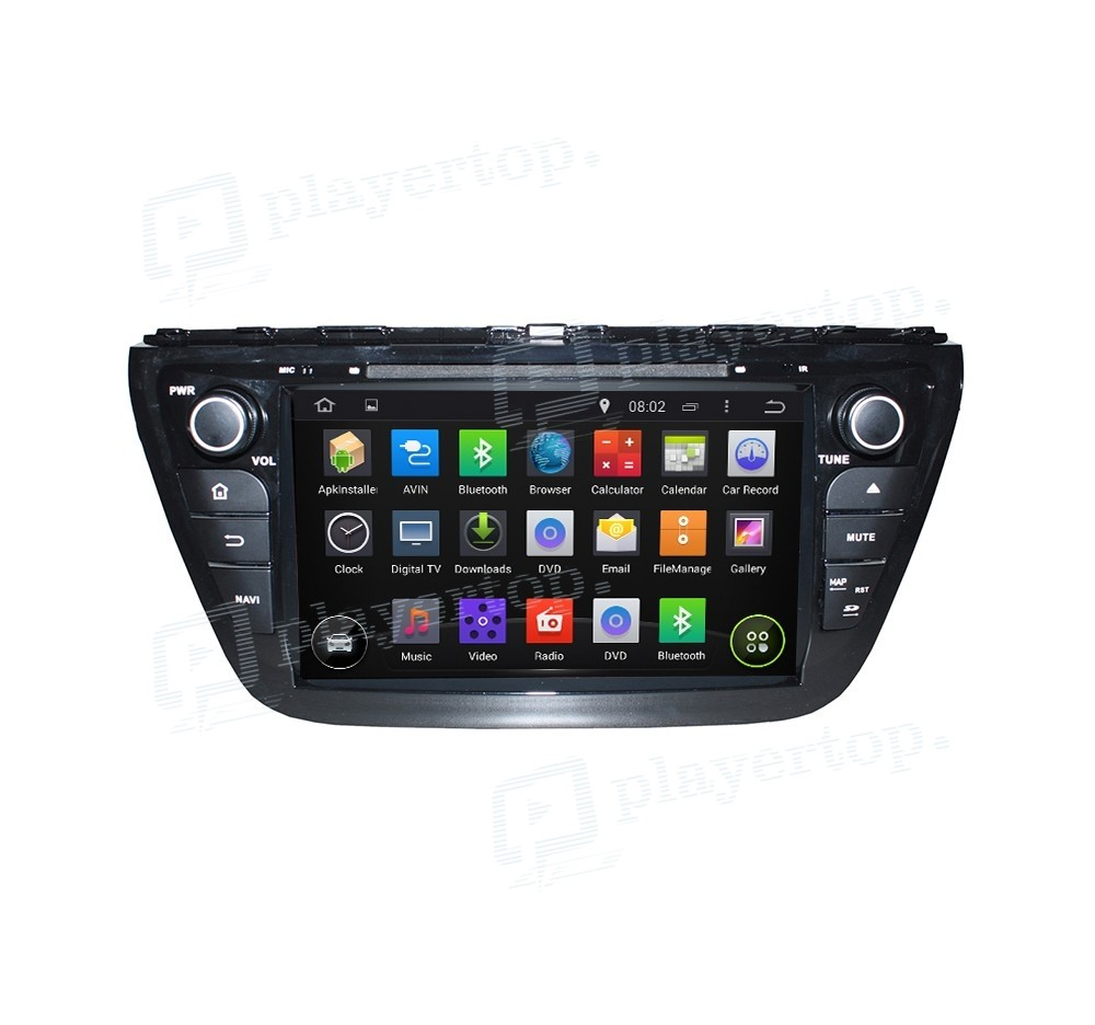 autoradio gps android 4 4 4 suzuki sx4 2014. Black Bedroom Furniture Sets. Home Design Ideas