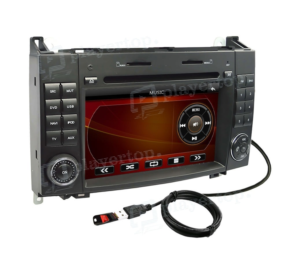 Navigation mercedes benz vito 2006 2012 for Mercedes benz gps system