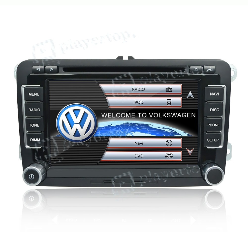 auto radio vw passat b7 2010 2011. Black Bedroom Furniture Sets. Home Design Ideas