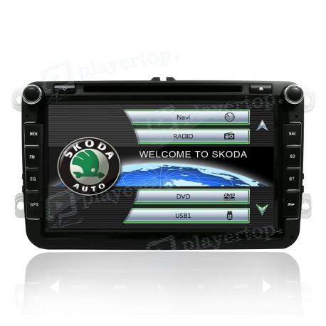 Poste auto GPS Skoda Roomster (2006-2013)