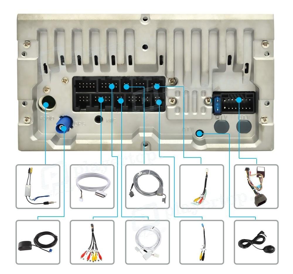 Autoradio Mercedes Benz Slk R171 2000 2008 Android 8 0