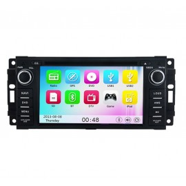 photo-Autoradio DVD GPS Jeep Wrangler (2007-2015)M