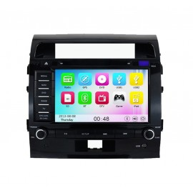 photo-Autoradio DVD GPS Toyota Land Cruiser 200 (2008-2012)M