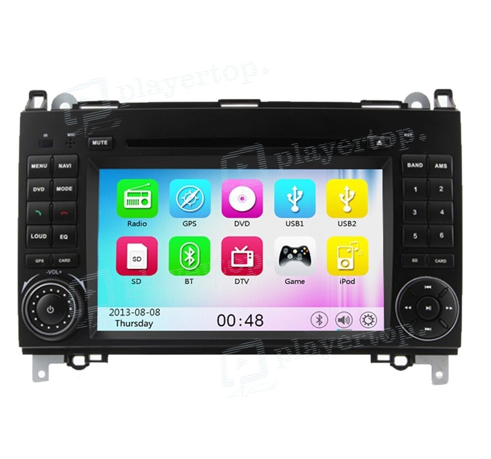 Autoradio Dvd Gps Mercedes Benz Sprinter W209 2006 2012