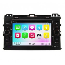 photo-Autoradio DVD GPS Toyota Land Cruiser (2003-2009)M