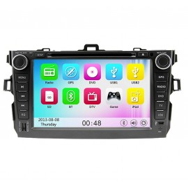 photo-Autoradio DVD GPS Toyota Corolla (2006-2011)M