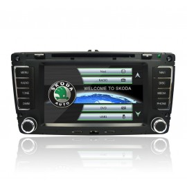 Auto-radio Skoda Octavia (2007-2013)