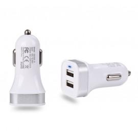 Chargeur de voiture allume cigare double port USB
