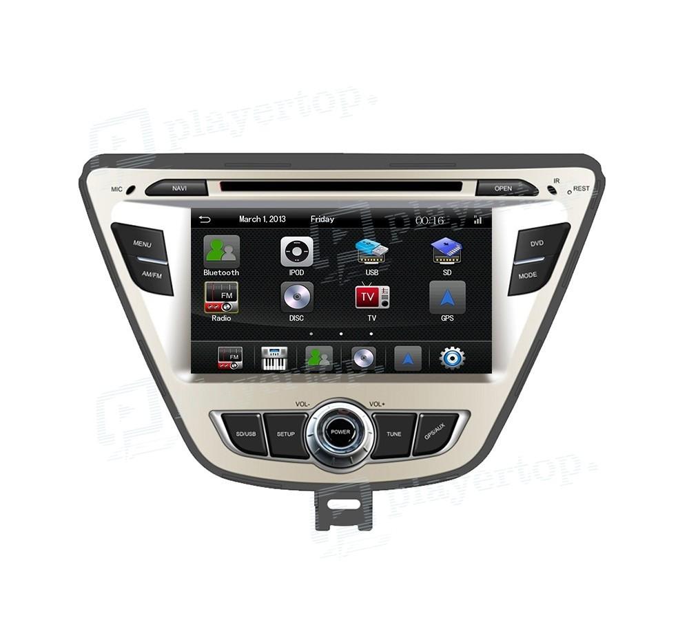 Hyundai Elantra Hatchback 2014: ᐈ GPS Autoradio Hyundai Elantra 2014