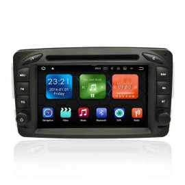 Autoradio Android 7.1 GPS Mercedes Benz Classe A W168 (1998-2002)