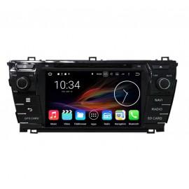 Autoradio DVD GPS Android 6.0 Toyota Corolla (2013-2014)