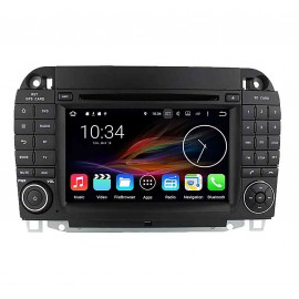 Autoradio DVD GPS Android 6.0 Mercedes Benz Classe S W220 (1999-2006)