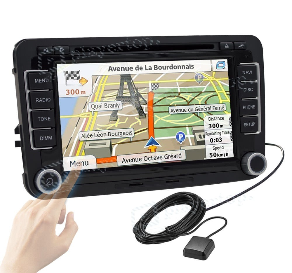 auto radio android 8 0 golf 5 player top. Black Bedroom Furniture Sets. Home Design Ideas