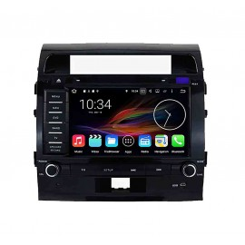 Autoradio DVD GPS Android 6.0 Toyota Land Cruiser 200 (2008-2012)