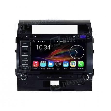 autoradio dvd gps android 8 0 toyota land cruiser 200. Black Bedroom Furniture Sets. Home Design Ideas