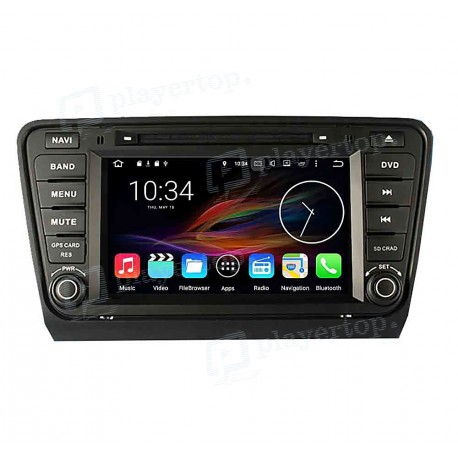 autoradio dvd gps android 8 0 skoda octavia 2014 player. Black Bedroom Furniture Sets. Home Design Ideas