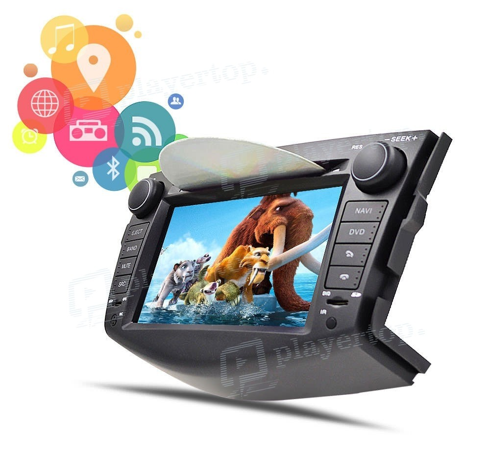 Autoradio Toyota Rav4 2008 2011 Android 8 0 Player Top