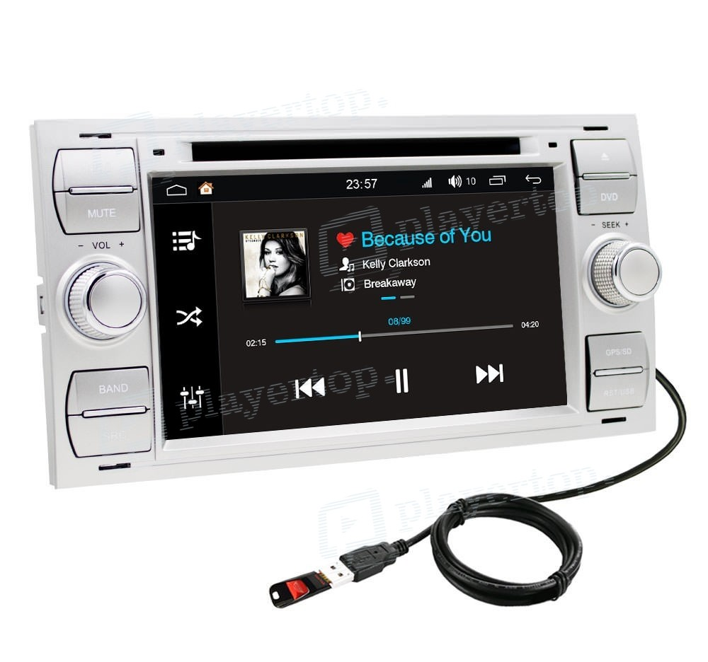 achat autoradio gps ford fiesta mkv 2006 2007. Black Bedroom Furniture Sets. Home Design Ideas