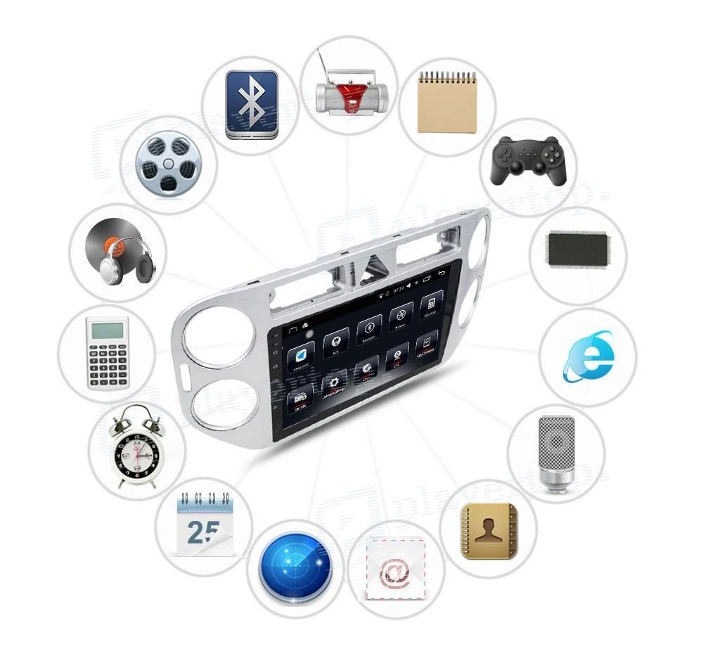 auto radio android 4 4 4 vw tiguan 2013. Black Bedroom Furniture Sets. Home Design Ideas