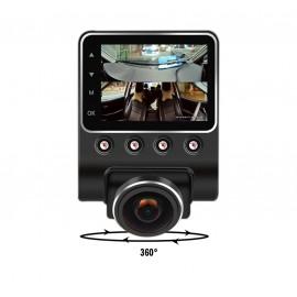 Caméra voiture 360 Full HD 1080 p