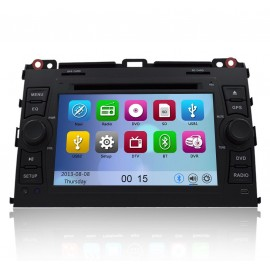Autoradio DVD GPS Toyota Land Cruiser (2003-2009)
