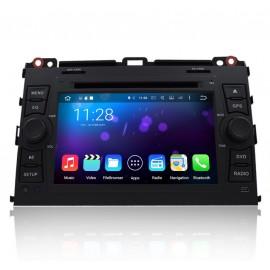 Autoradio DVD GPS Android 6.0 Toyota Prado 120 Series (2003-2009)