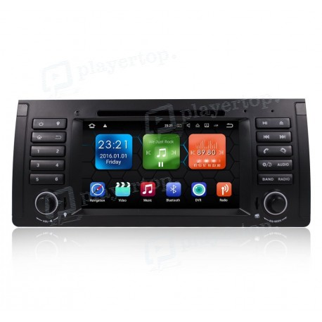 Autoradio DVD GPS Android 7.1 BMW E39 (1996-2003)