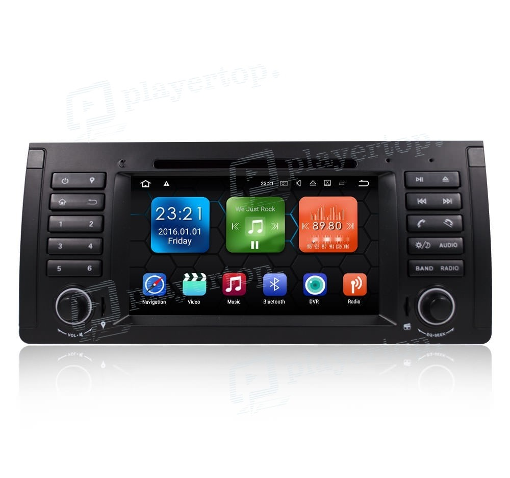 autoradio dvd gps android 8 0 bmw e39 1996 2003. Black Bedroom Furniture Sets. Home Design Ideas