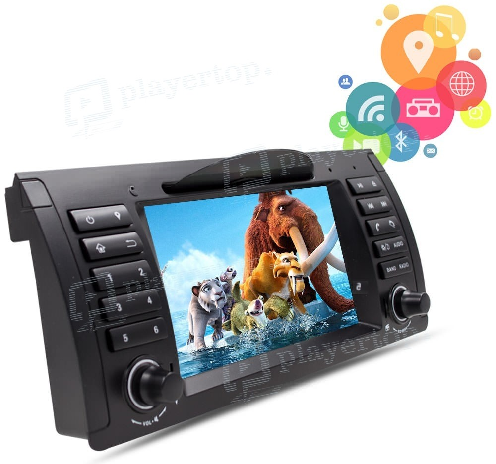 autoradio dvd gps android 4 4 4 bmw e39 1996 2003. Black Bedroom Furniture Sets. Home Design Ideas