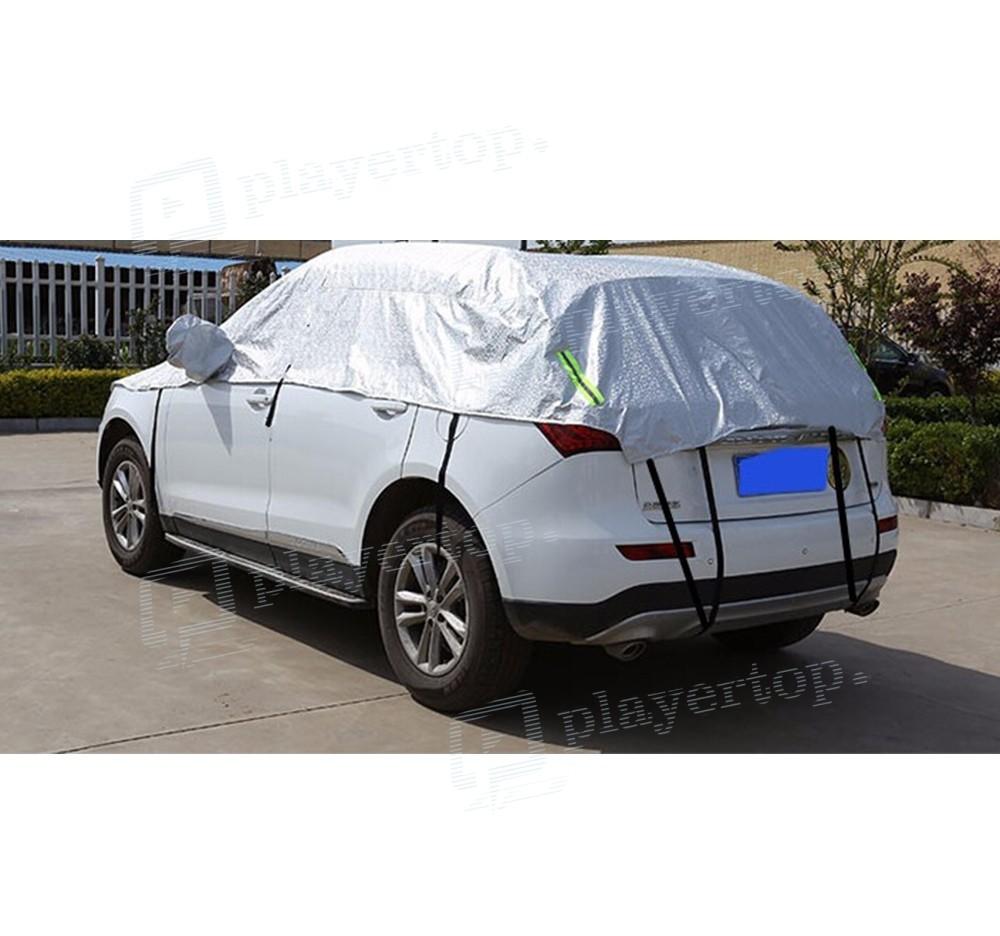 Housse de voiture universelle en aluminium for Housse auto universelle