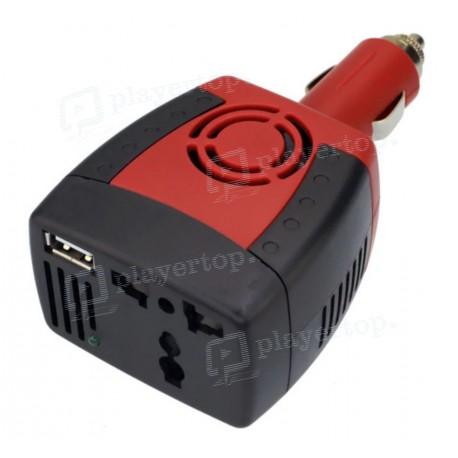 Convertisseur 12v 220v 150 W chargeur et onduleur