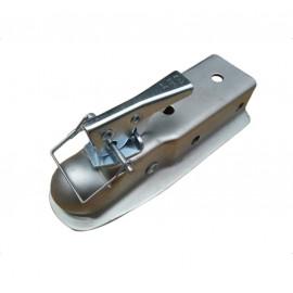 Tête d'attelage remorque en acier plaqué zinc