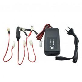 Chargeur batterie moto 12v avec désulfateur