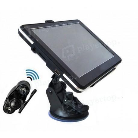 Caméra de recul Bluetooth avec GPS et moniteur TFT 7 pouces