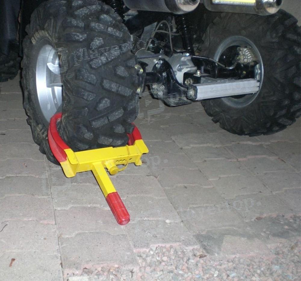 antivol roue voiture antivol bloque roue voiture ou caravane mottez a068p antivol de roue. Black Bedroom Furniture Sets. Home Design Ideas