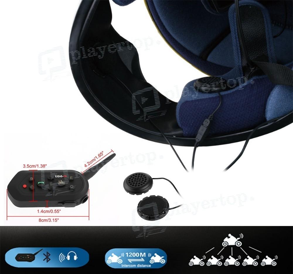 ecouteur moto bluetooth avec annulation de bruits. Black Bedroom Furniture Sets. Home Design Ideas
