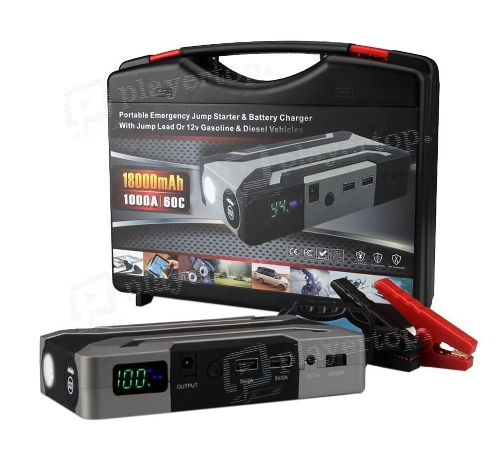 chargeur d marreur booster batterie 12 v avec fonction. Black Bedroom Furniture Sets. Home Design Ideas