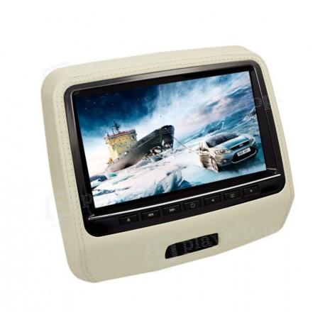 Lecteur dvd appui tete 9 pouces à écran tactile