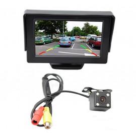 Caméra de recul camping car, utilitaire et camion avec écran 4.3 pouces