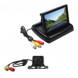 Caméra de recul auto et utilitaire avec écran 4.3 pouces