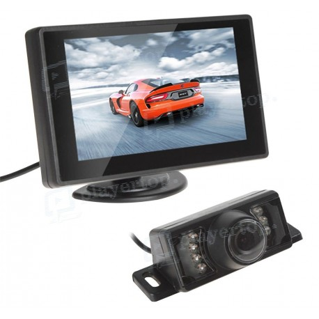 Caméra de recul avec moniteur 4.3 pouces