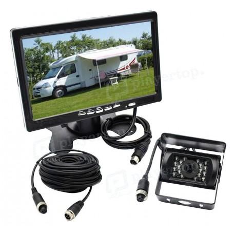 Caméra de recul camping car avec écran 7 pouces