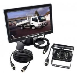 Caméra de recul utilitaire avec écran 7 pouces