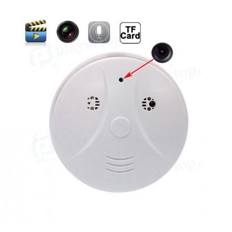 Détecteur de fumée caméra espion WiFi